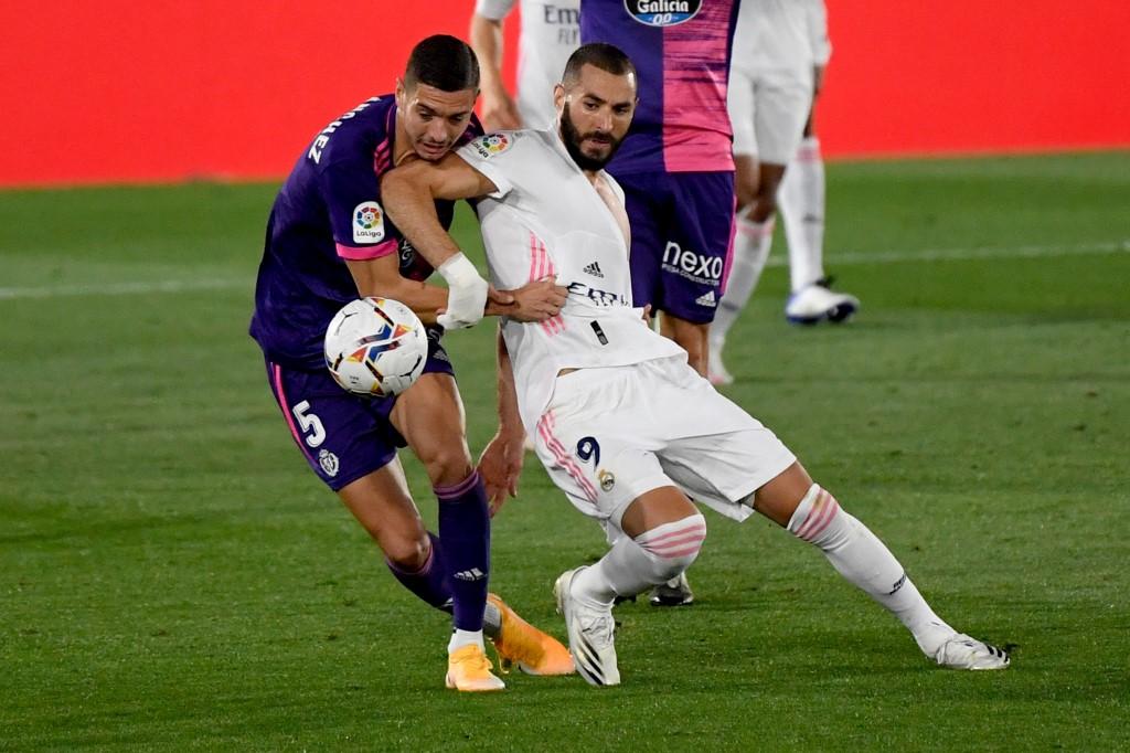 Real Madrid vs Valladolid por La Liga