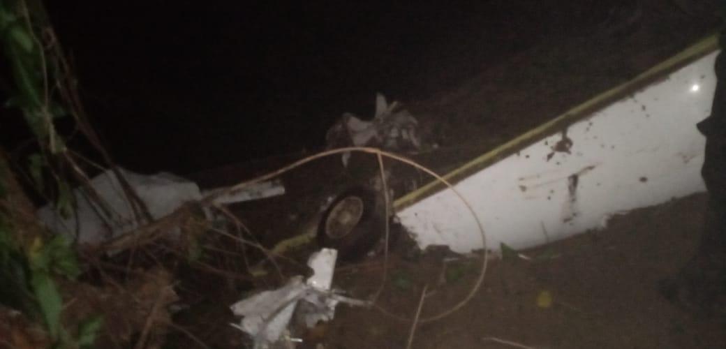Ejército localiza aeronave accidentada en Alta Verapaz