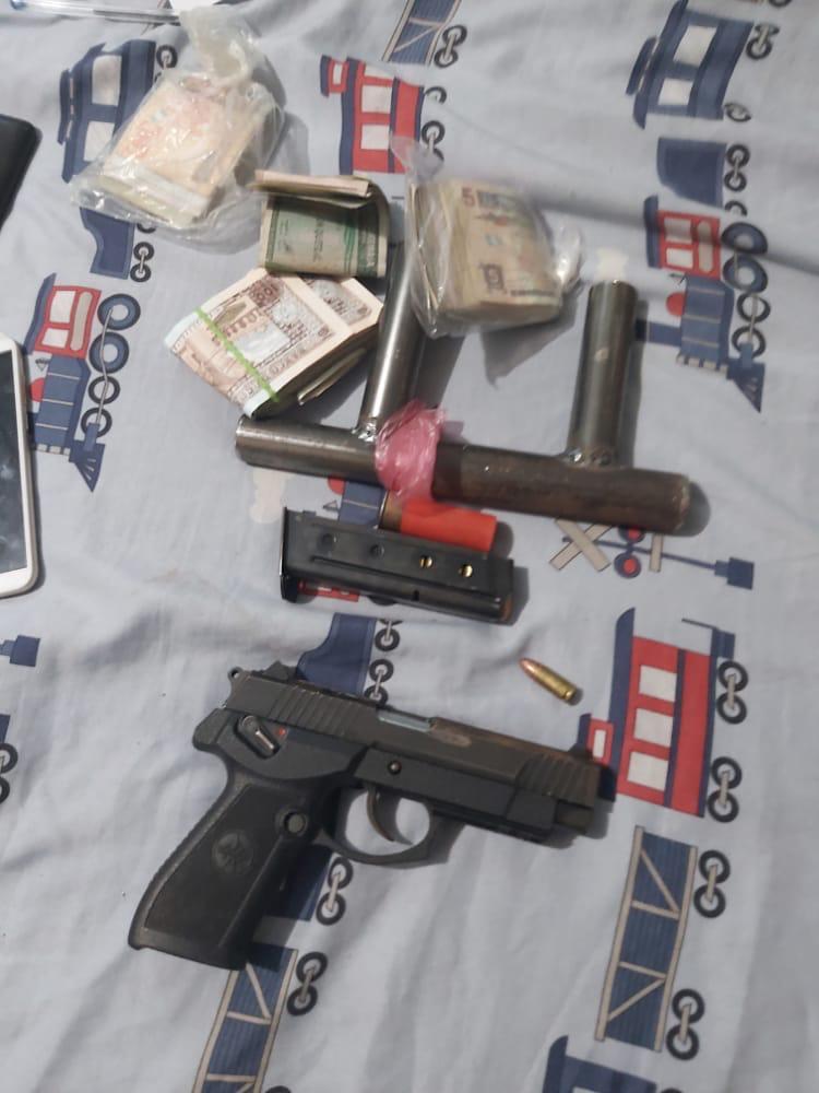 allanamientos contra extorsiones en la capital