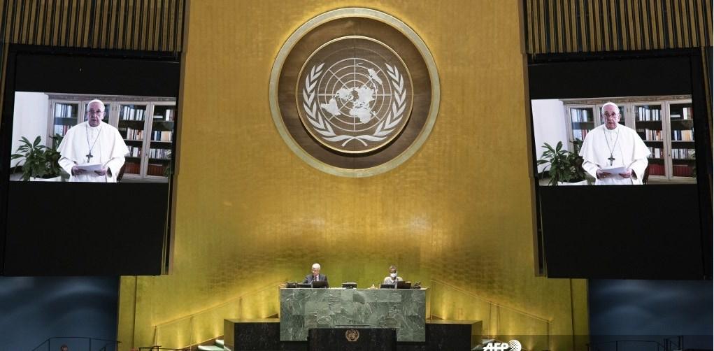 Discurso del papa Francisco en la Asamblea General de la ONU