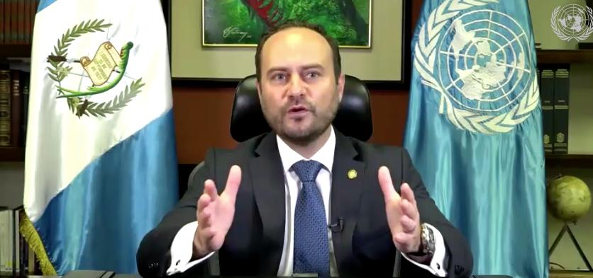 canciller Pedro Brolo en Asamblea de la ONU