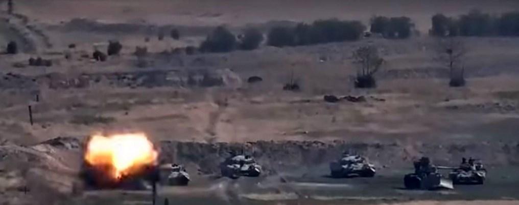 Combates entre Armenia y Azerbaiyán