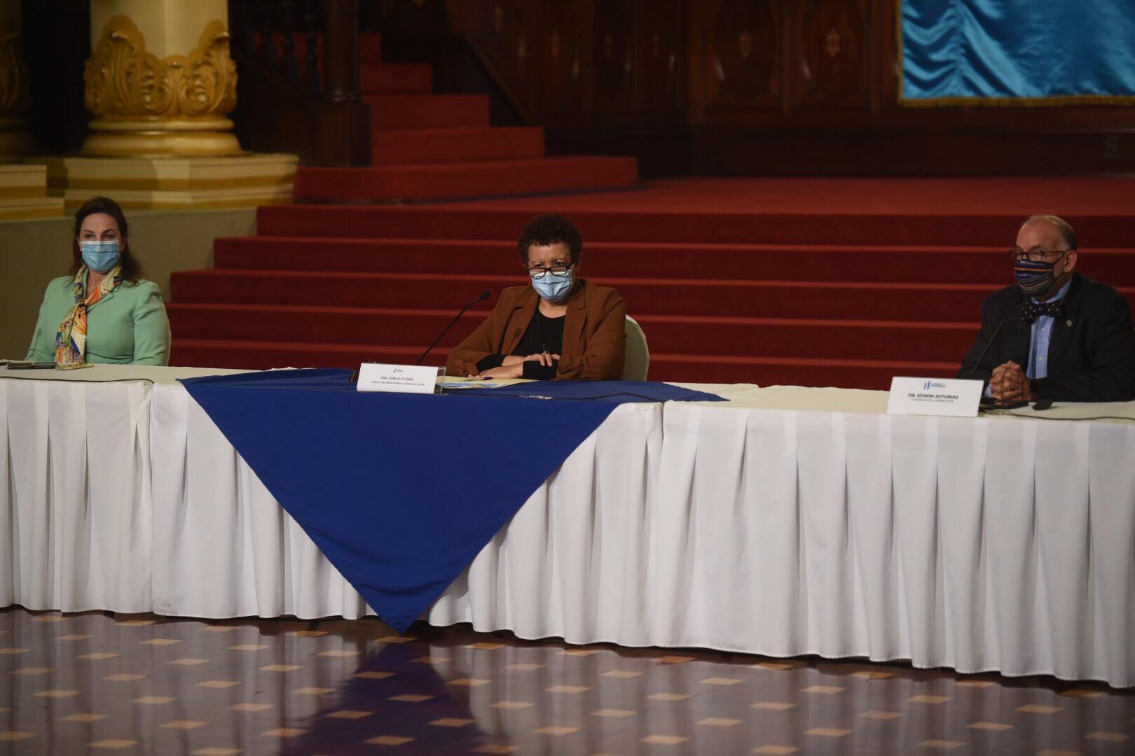 Ministerio de Salud y Coprecovid explican situación de la pandemia y nuevas disposiciones