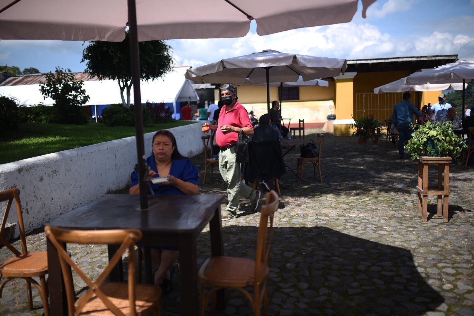 corredor gastronómico en San Juan Del Obispo, Antigua Guatemala