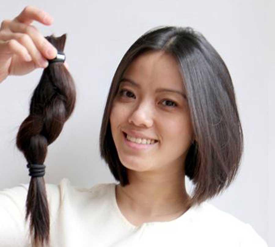 Donación de pelo