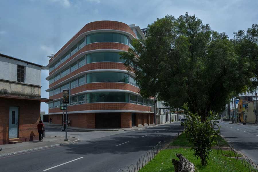 Edificio del MP en la zona 5