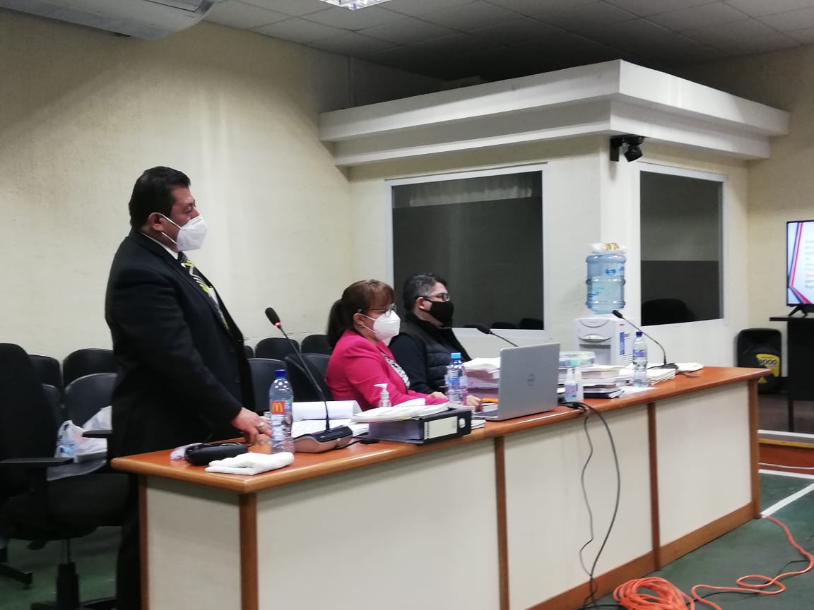 Exdiputado al Parlacen, Othmar Sánchez, se pone a disposición de juzgado