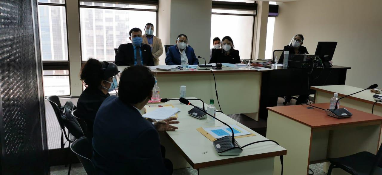 exmagistrado Eddy Orellana pide cambio de medidas sustitutivas