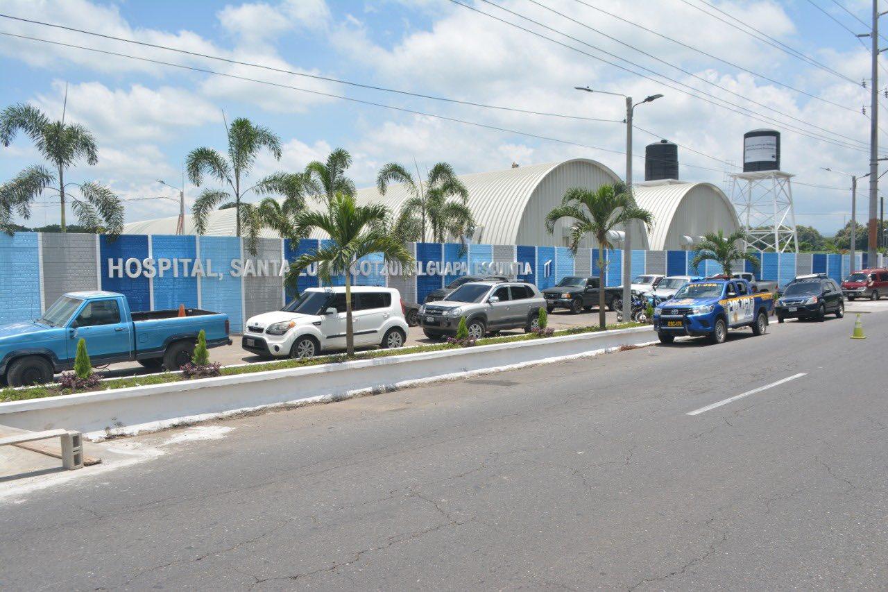 hospital temporal de Santa Lucía Cotzumalguapa, Escuintla
