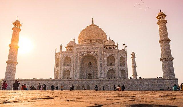 Taj Mahal, en la India