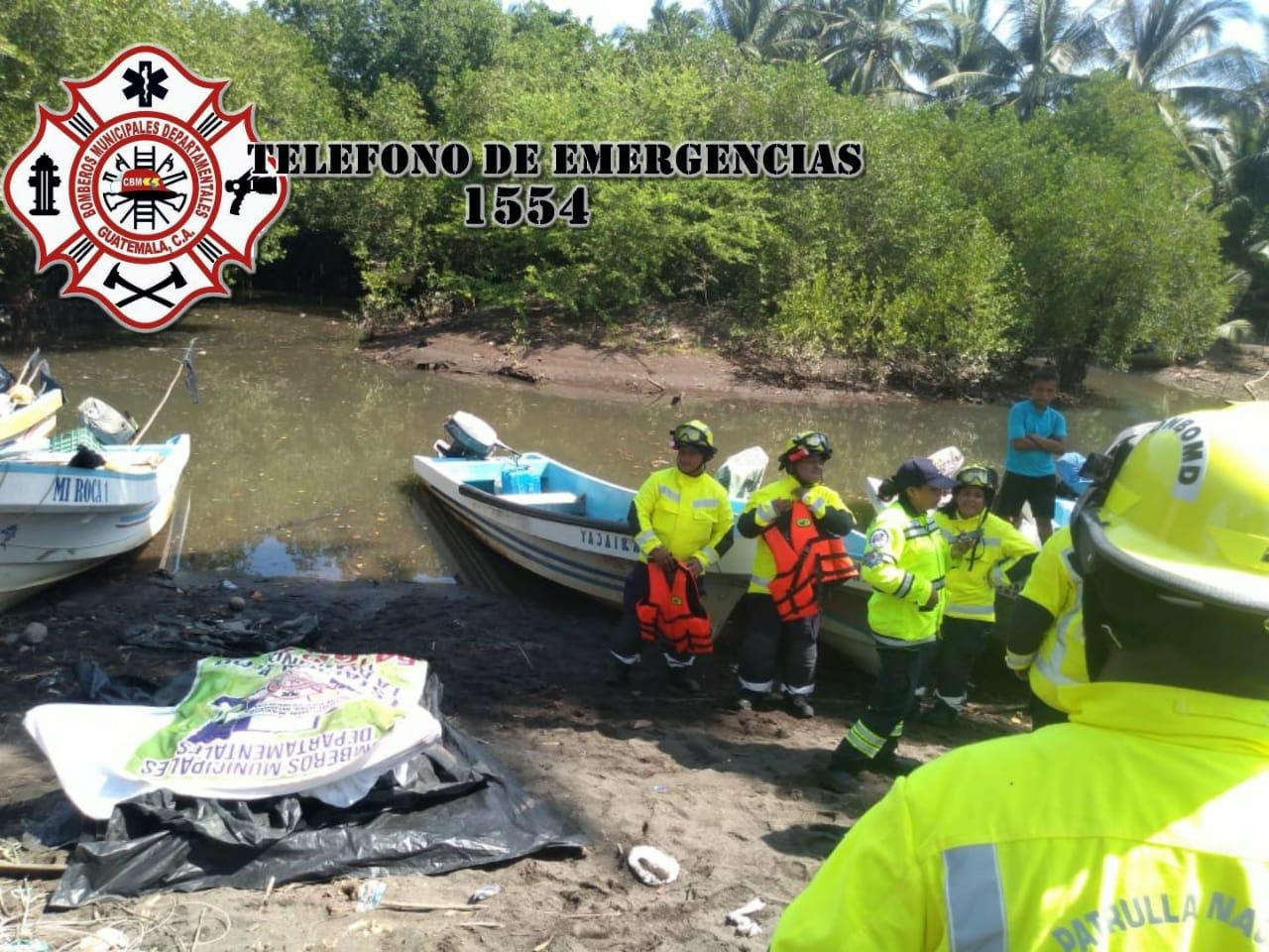 Localizan cuerpo de joven desaparecido en playas de Escuintla