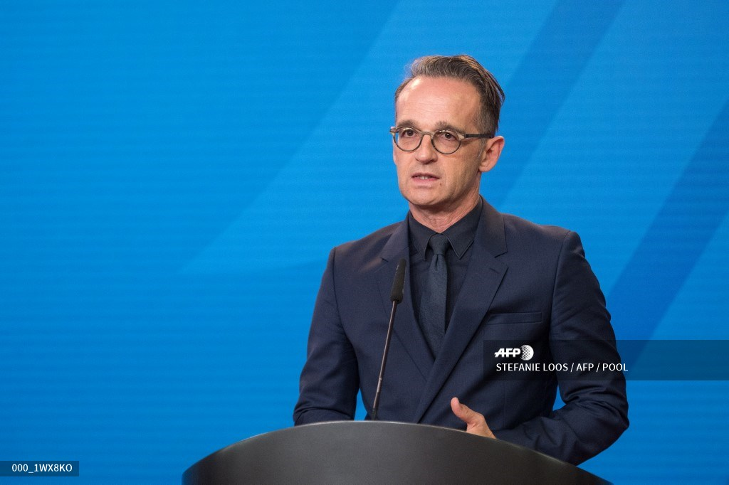 Heiko Maas, ministro alemán de Relaciones Exteriores