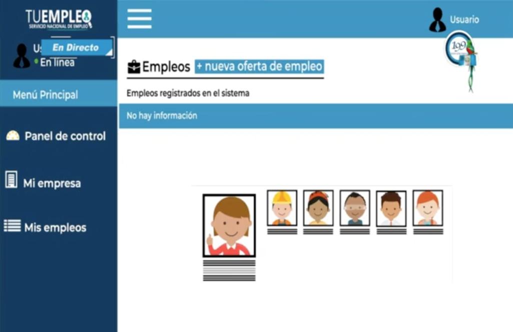 ventanilla especial para empleadores en portal Tu Empleo