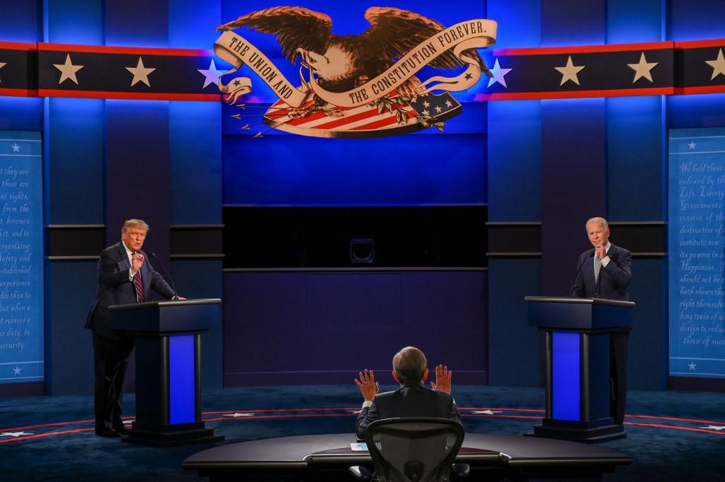 Primer debate entre Donald Trump y Joe Biden, 29 de septiembre de 2020