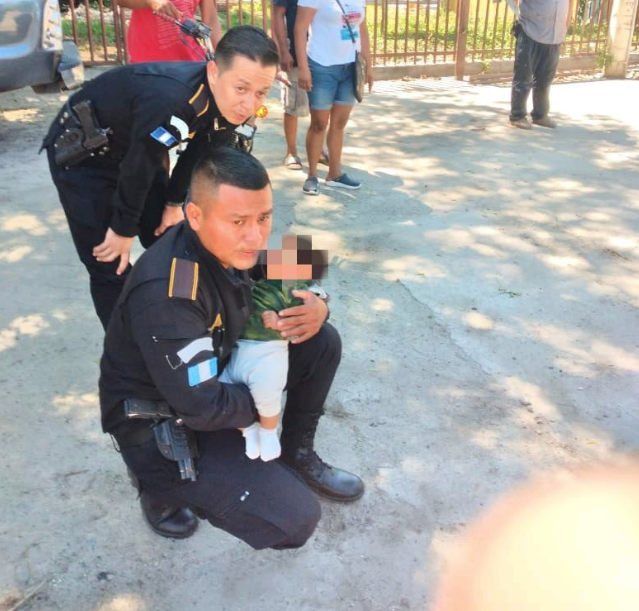 PNC rescata a bebé robado en Zacapa