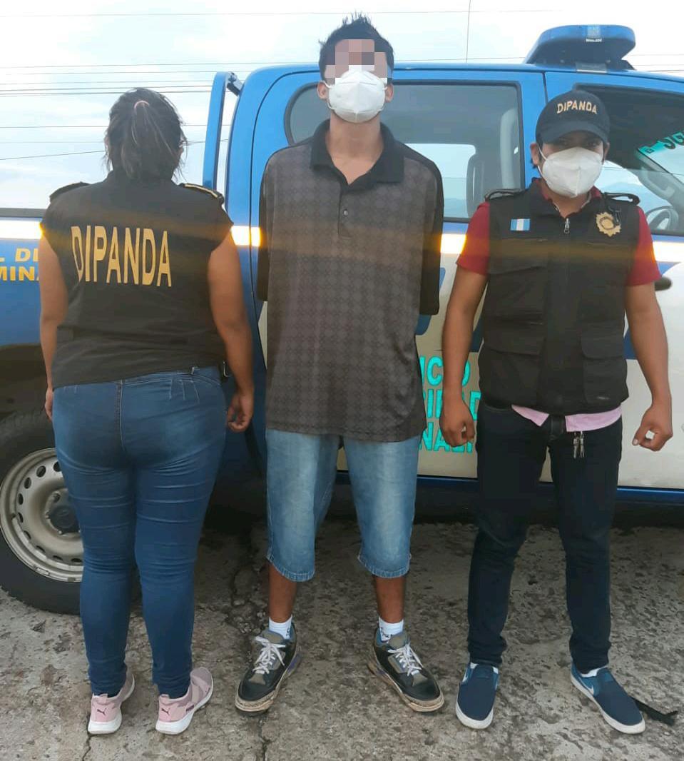 salvadoreño capturado en Escuintla