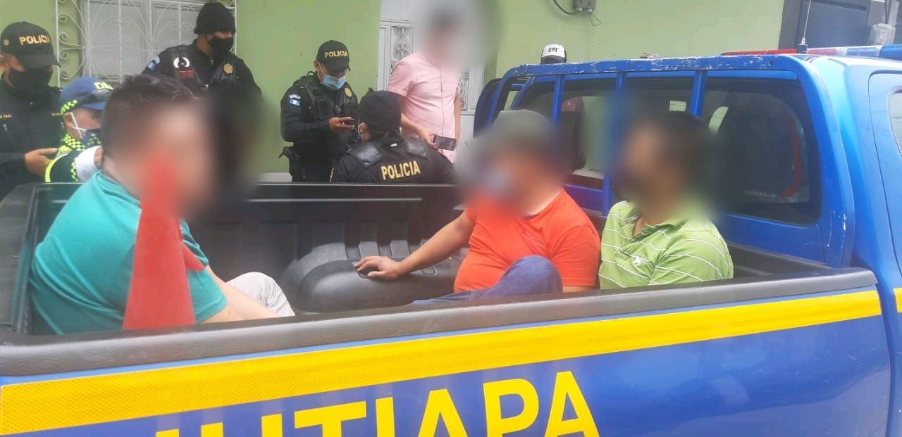 capturan a saqueadores de comercios en Jutiapa