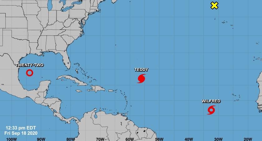 Tormenta tropical Wilfred