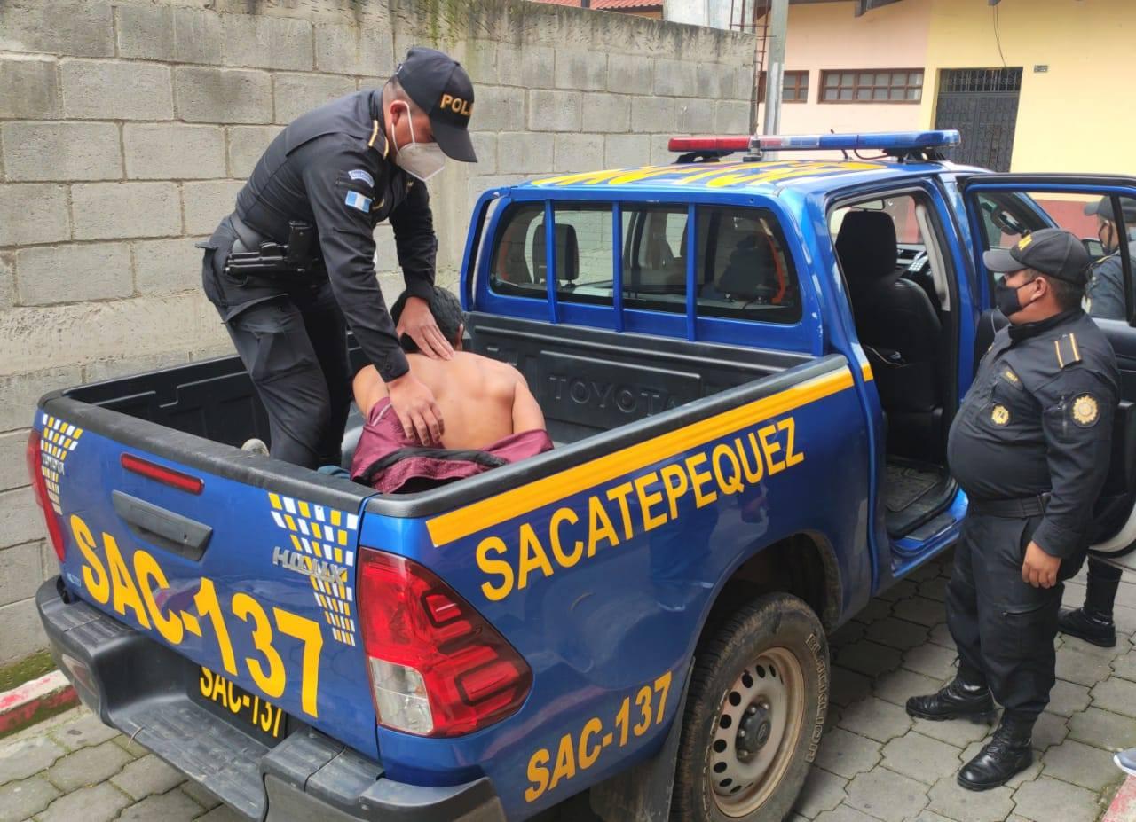 capturan a presunto secuestrador en Sacatepéquez