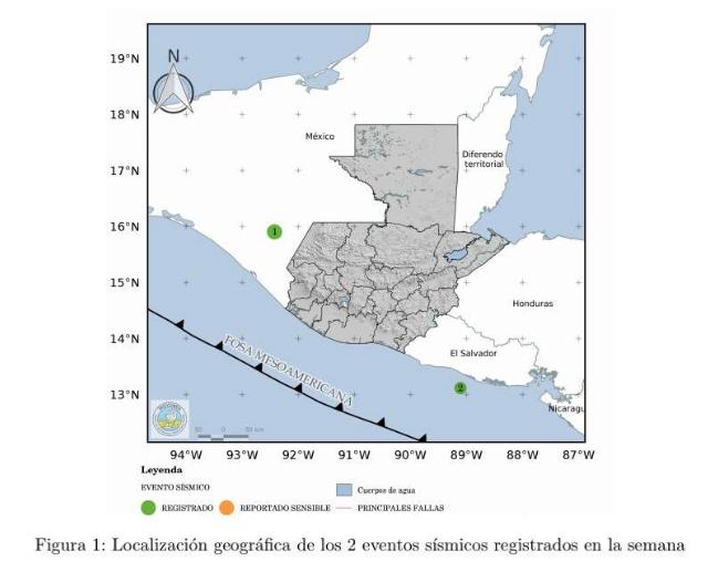 sismos en Guatemala el 21 y 22 de septiembre