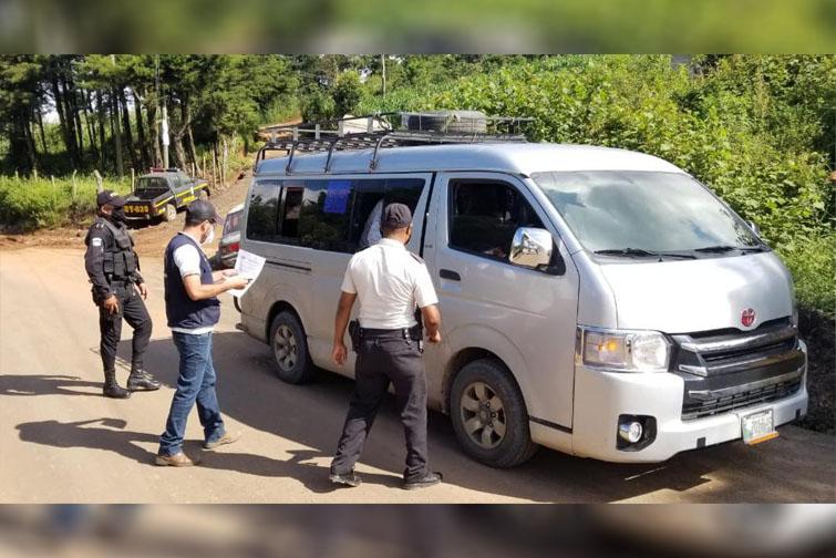 Ministerio de Salud realiza inspecciones para verificar cumplimiento de alertas