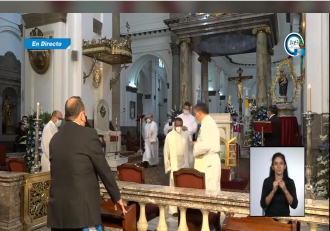 Se realiza Te deum en Catedral Metropolitana por el 199 aniversario de Independencia