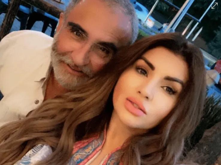 Vicente Fernandez Jr y novia