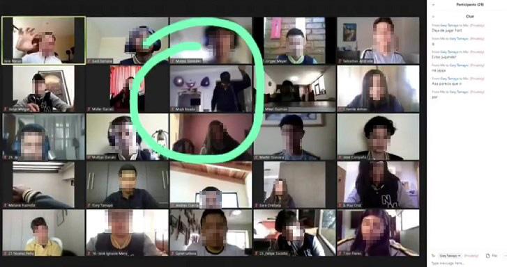 Ladones roban casa de una estudiante mientras recibía una clase en línea