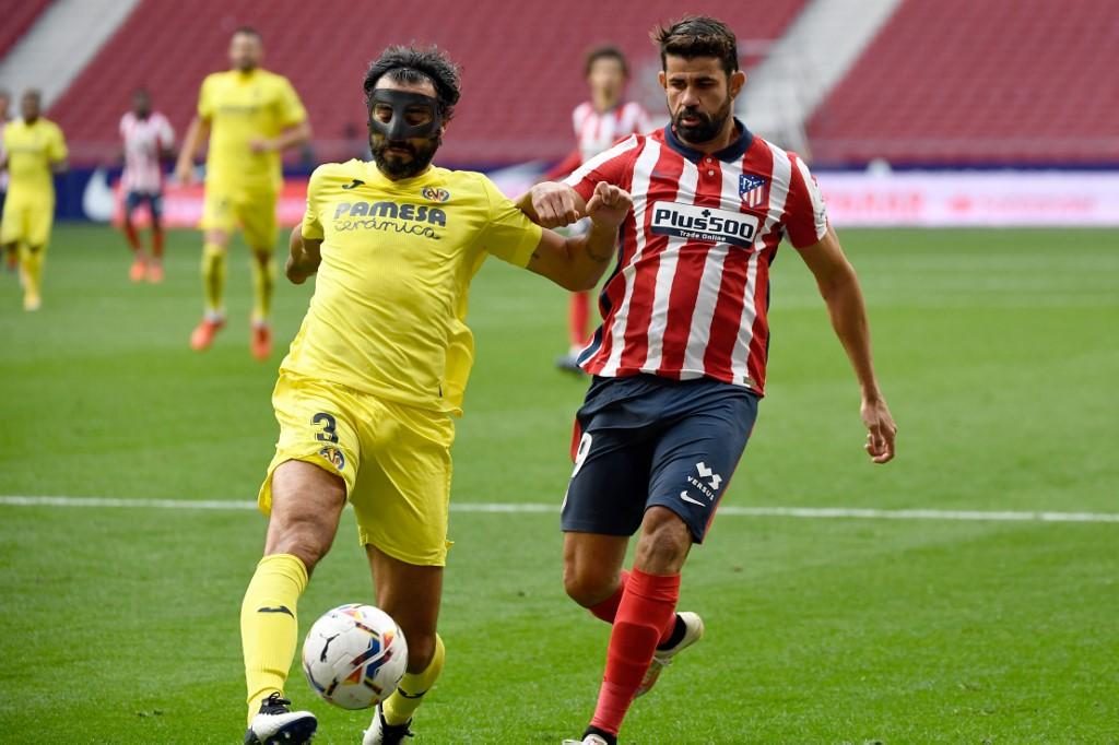 Atlético de Madrid empata sin goles frente al Villareal