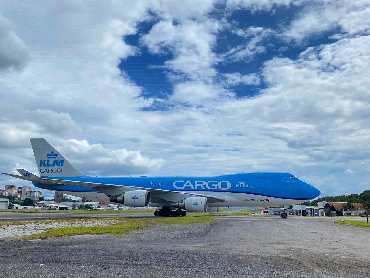 Boeing 747 en Guatemala.