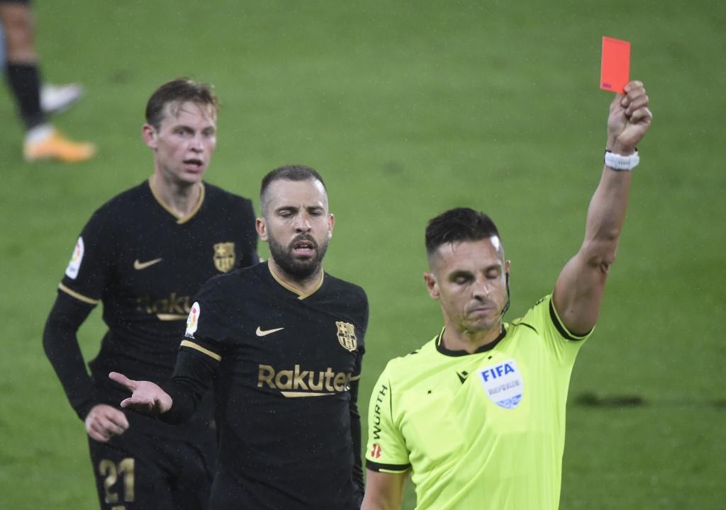 Celta vs Barcelona, expulsión Lenglet