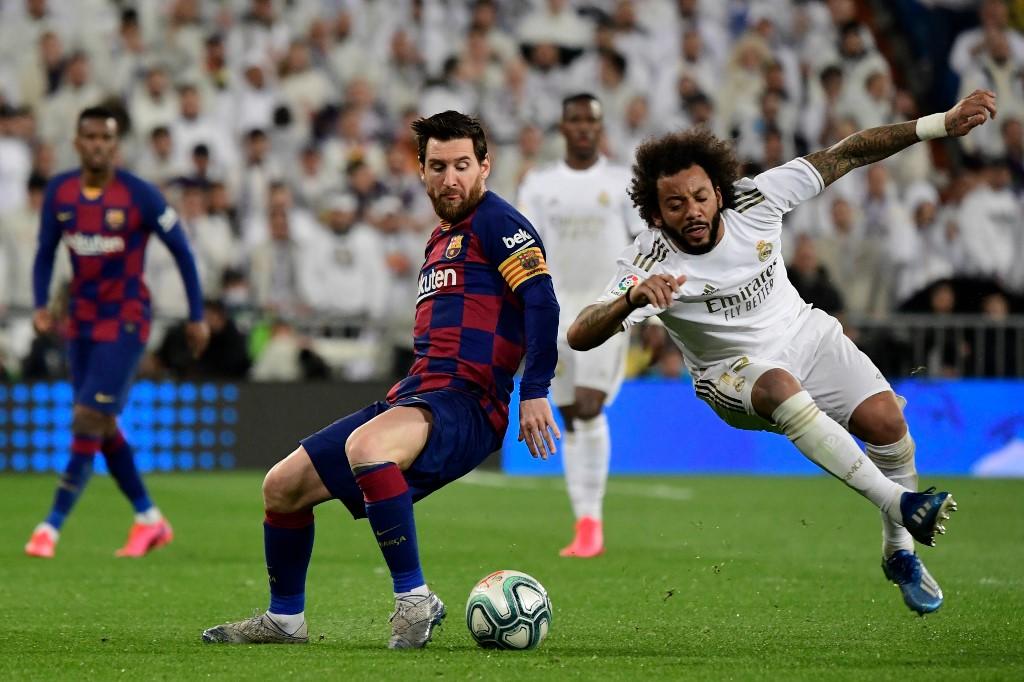 FC Barcelona vs Real Madrid, Clásico La Liga 2020