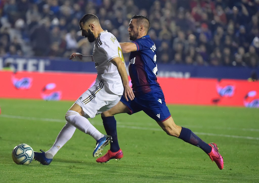 El Real Madrid visita al Levante