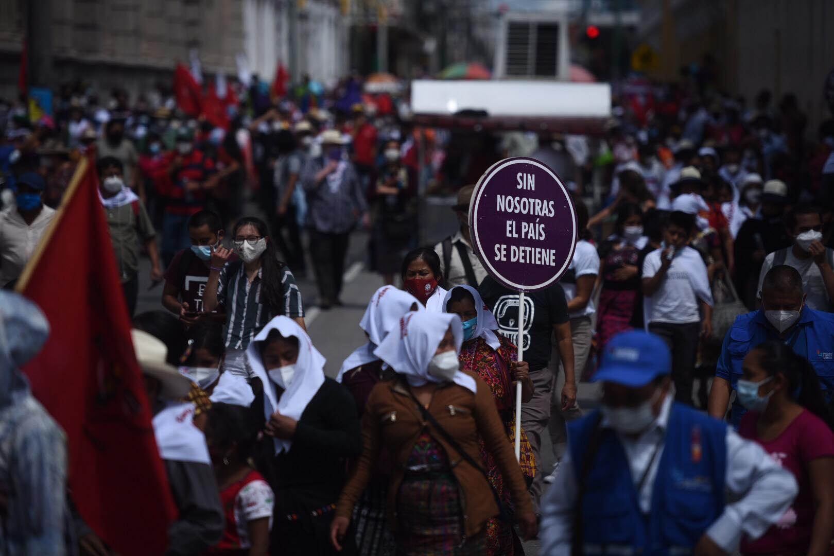 Marcha por la Revolución del 44.