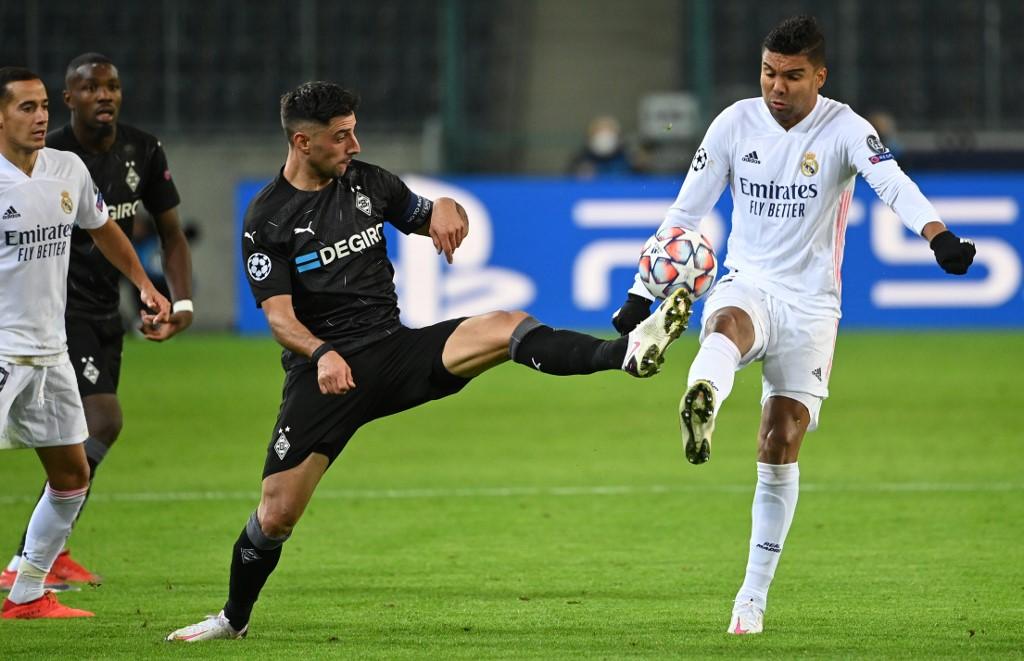 Mönchengladbach vs Real Madrid, Champions League