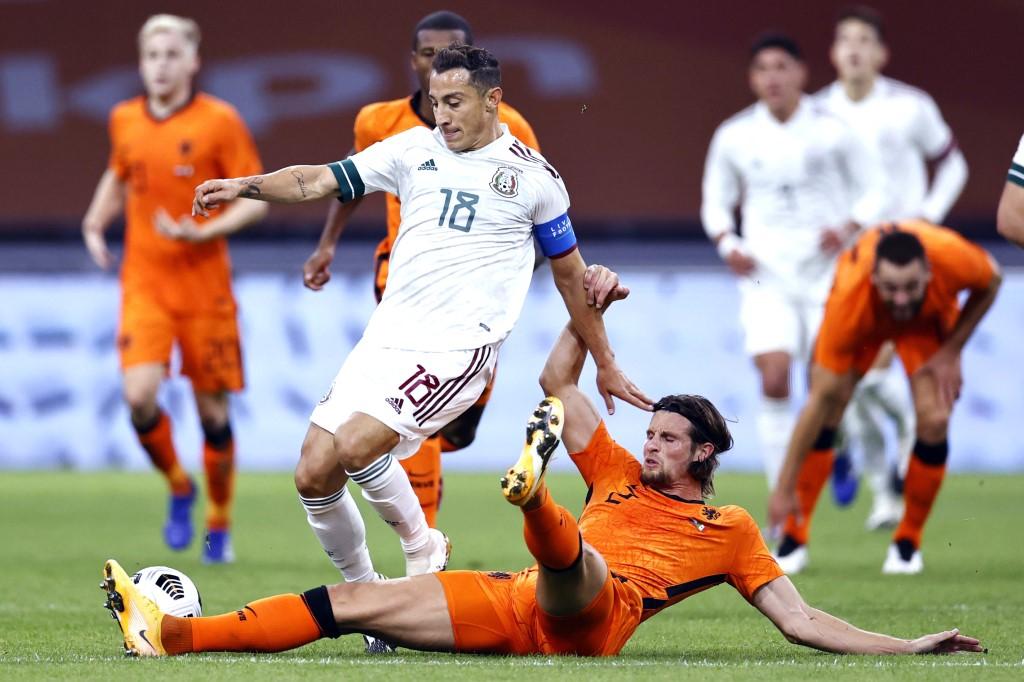 Resultado Países Bajos vs México