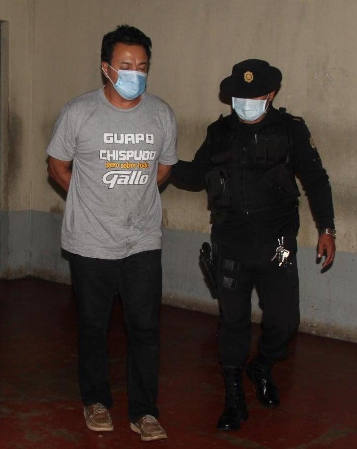 PNC captura a Romelio López por herir a niña de 5 años.