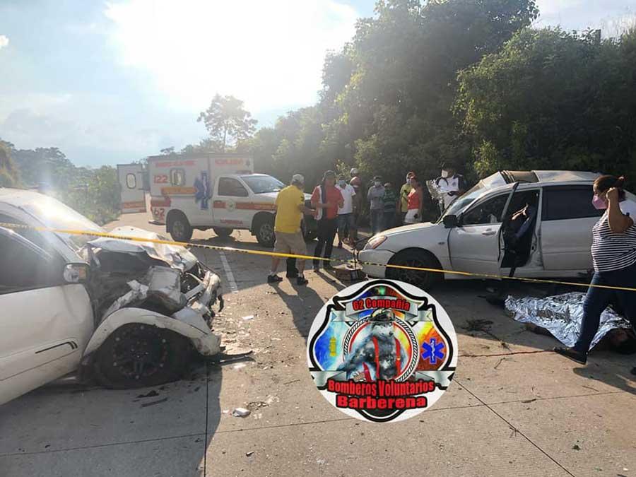Accidente de tránsito en Barberena