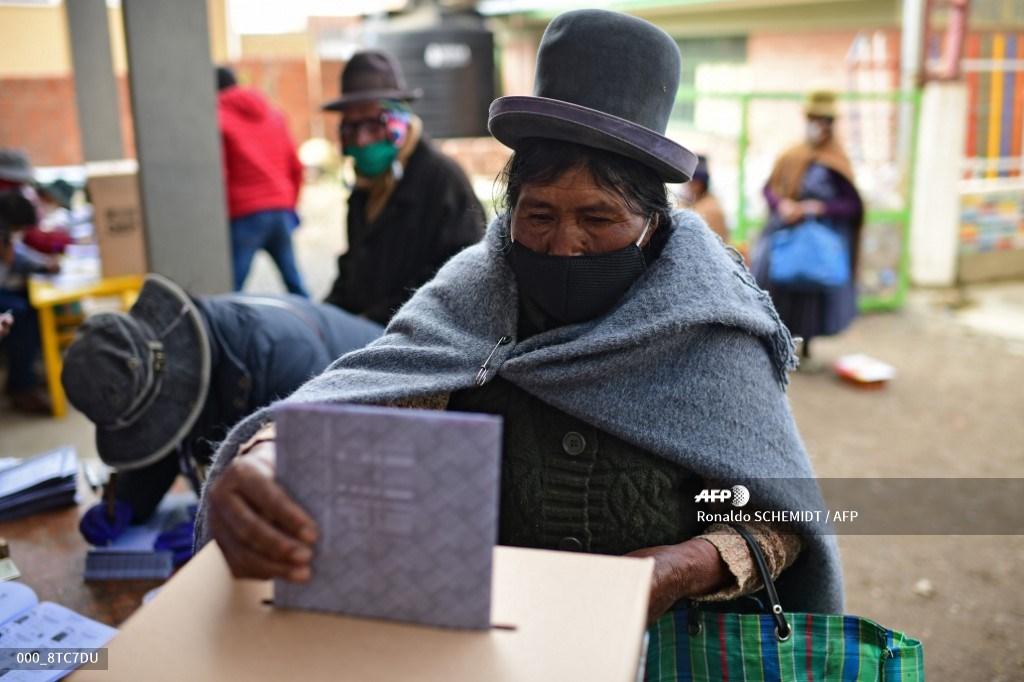 Elecciones presidenciales en Bolivia 2020