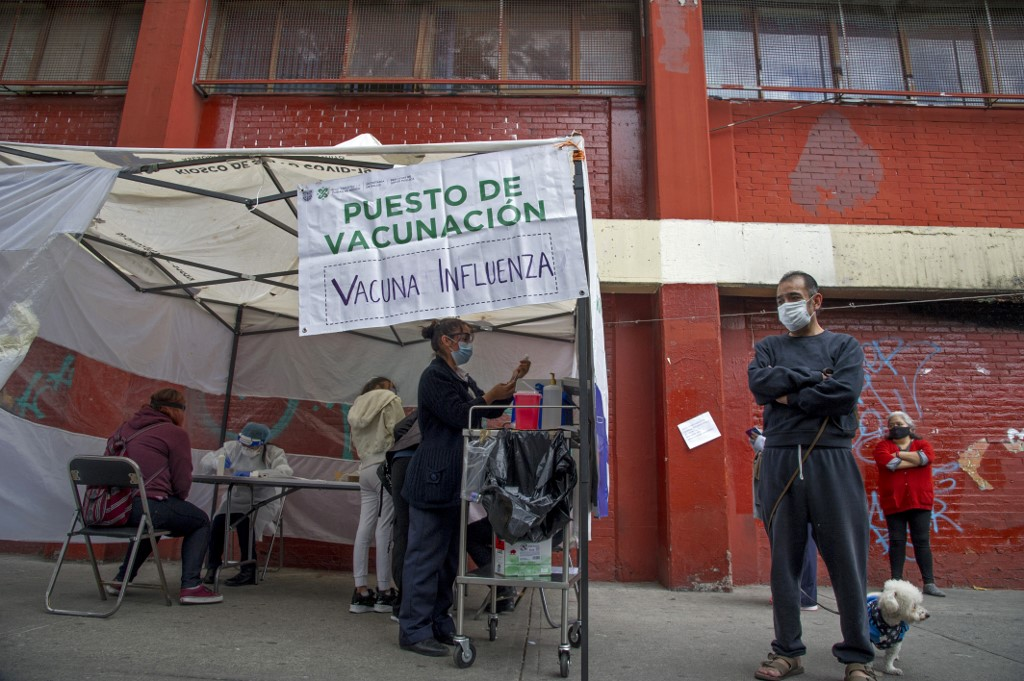 Campaña de vacunación contra la Influenza en México