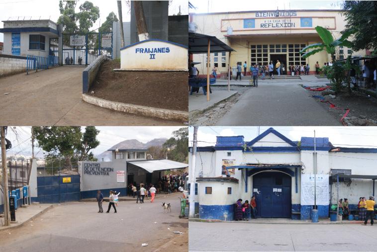 visitas a cárceles de Guatemala