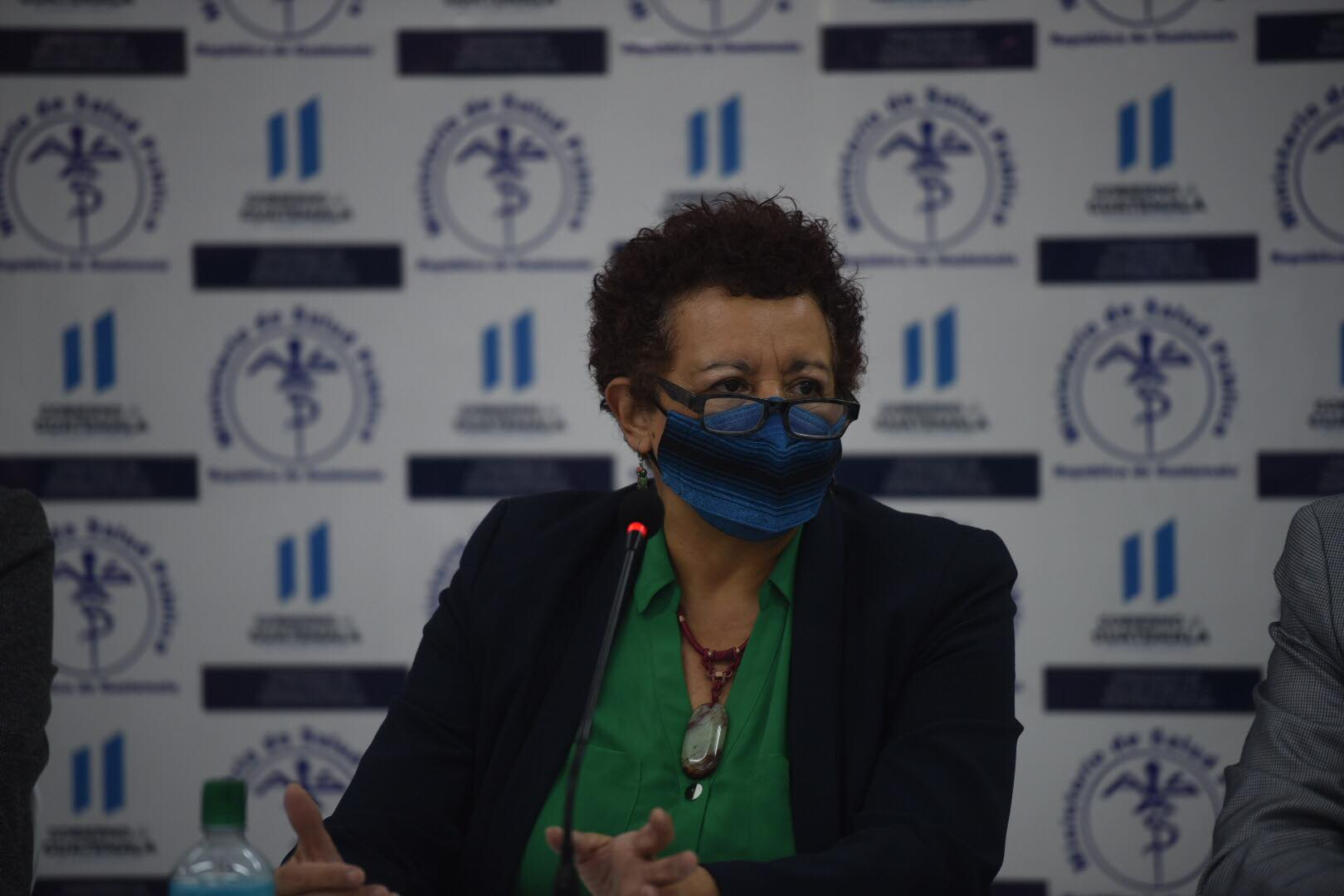 Amelia Flores, ministra de Salud.