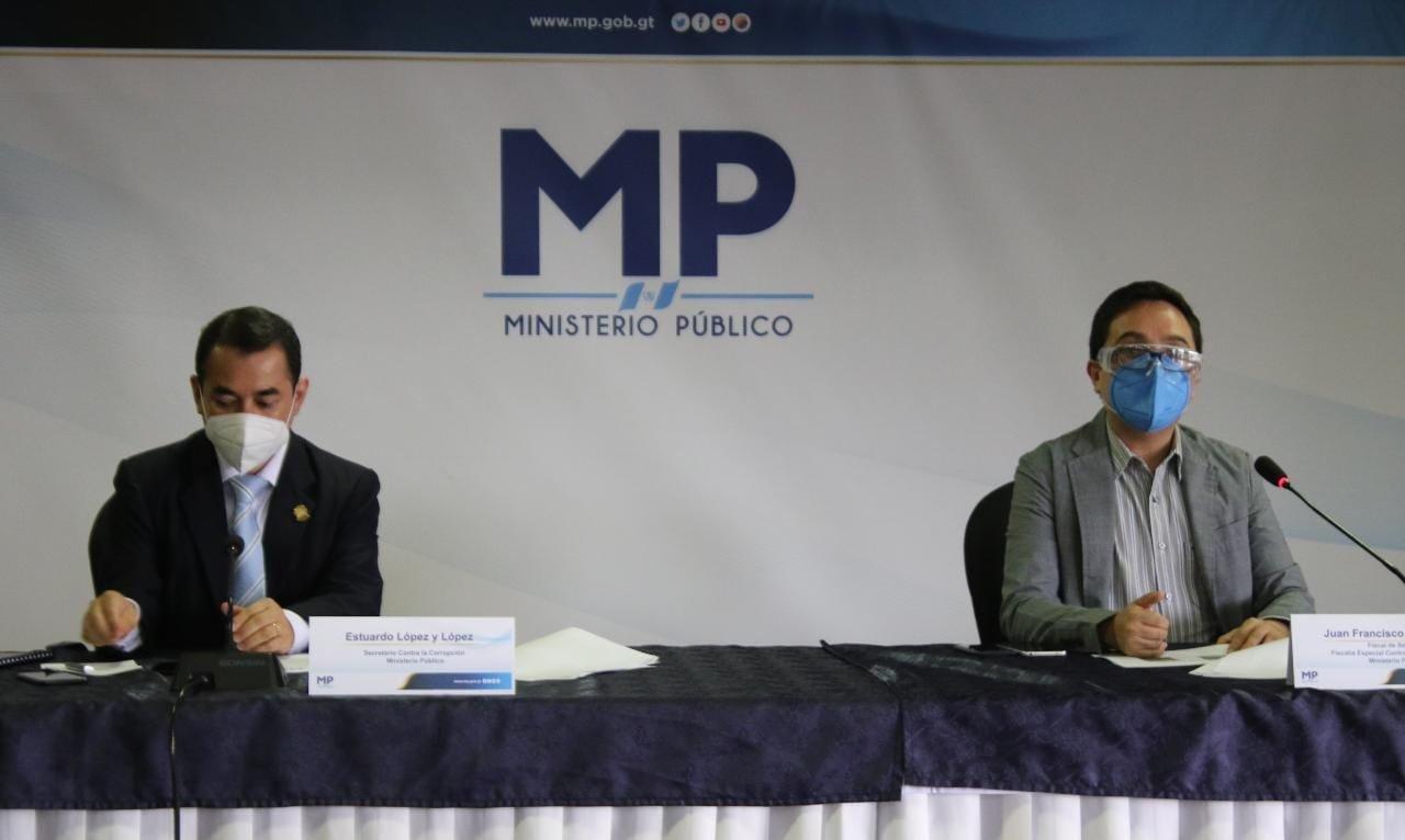 detalles de operativo en Antigua Guatemala