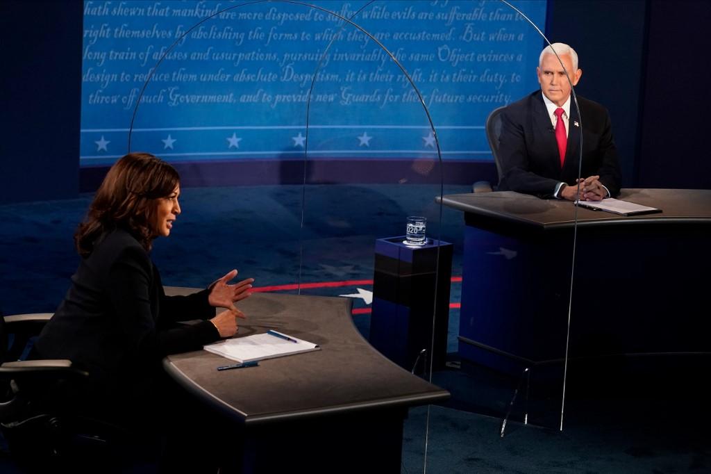 Debate vicepresidencial entre Mike Pence y Kamala Harris