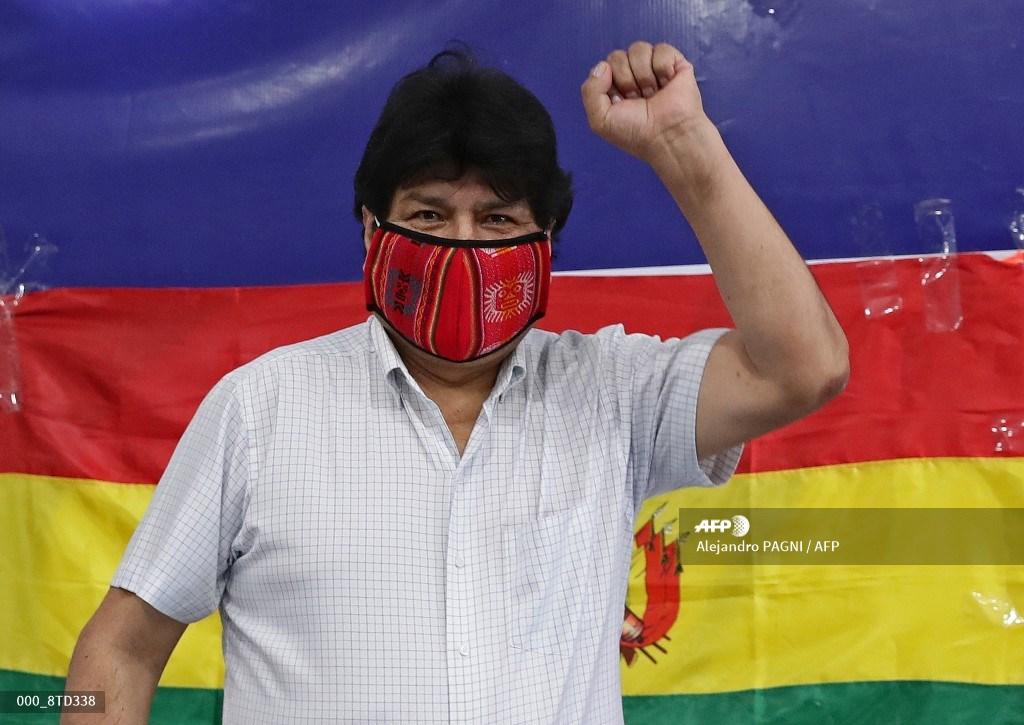 Evo Morales emite mensaje por elecciones presidenciales en Bolivia