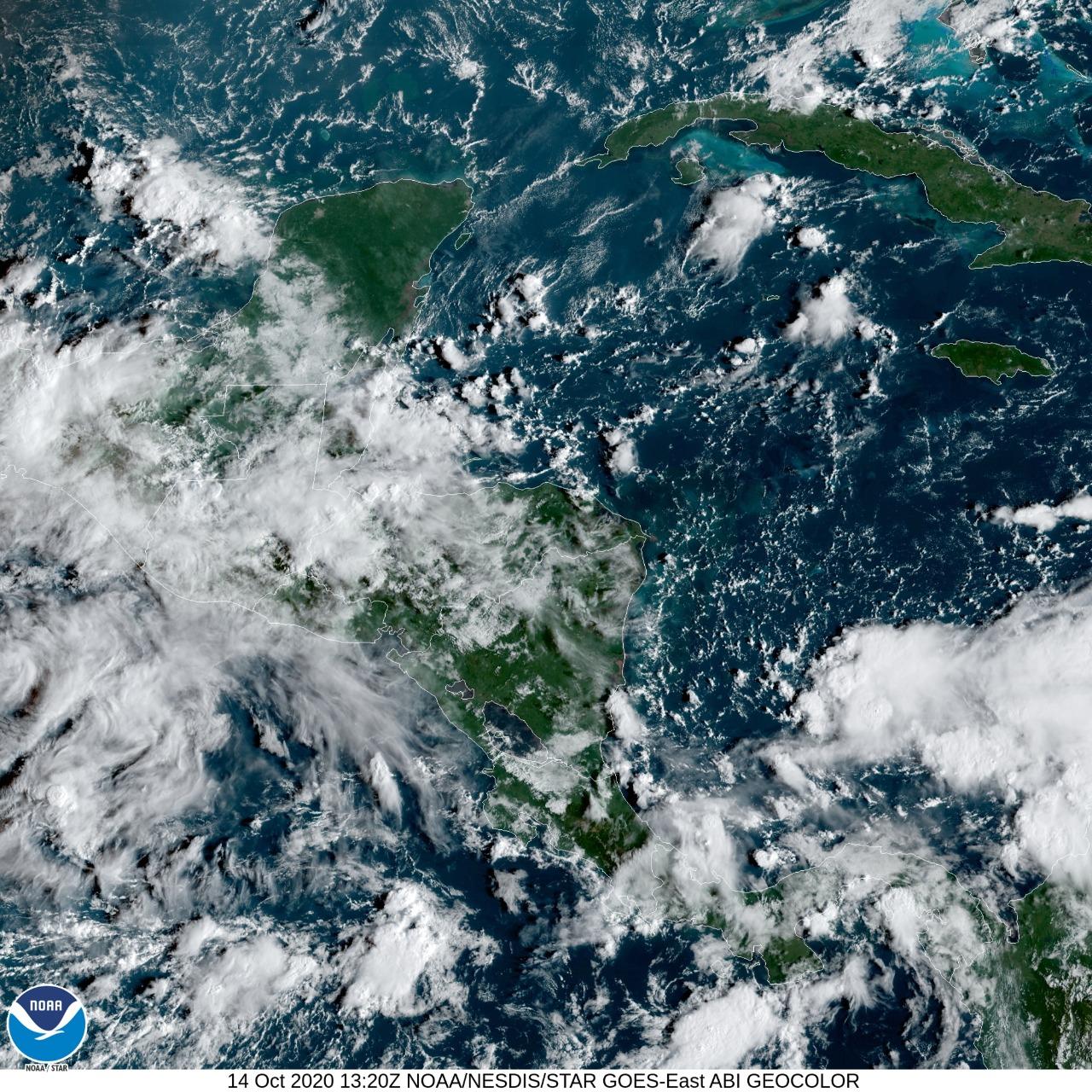 frente frío que afectará Guatemala desde el 16 de octubre