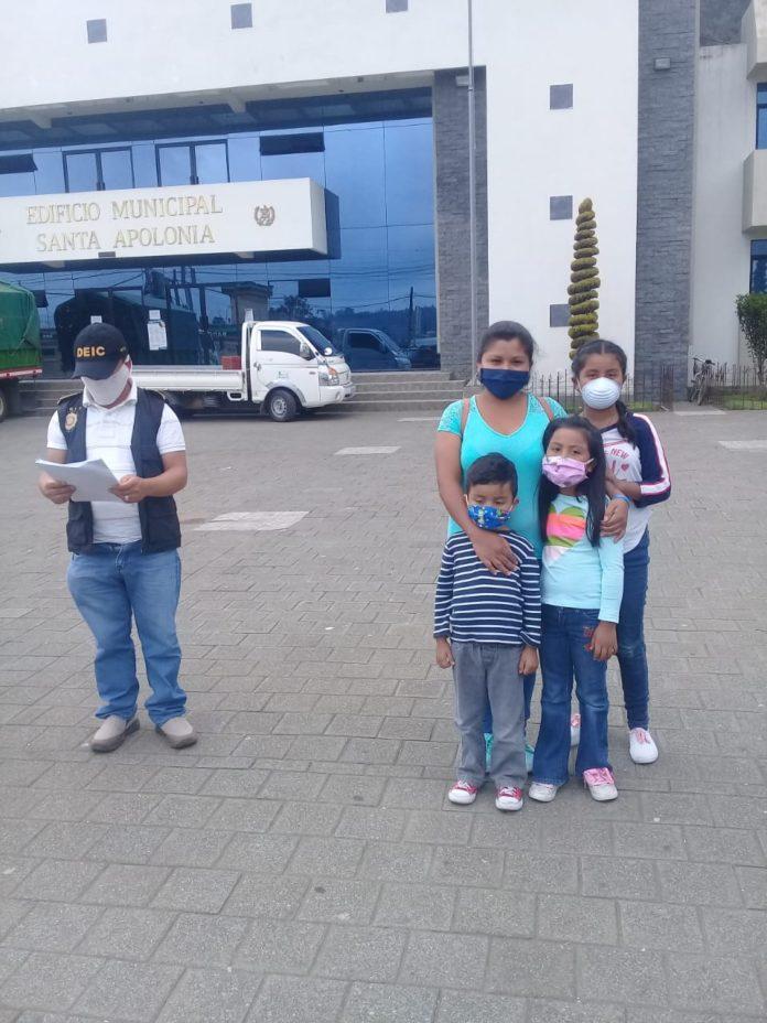 localizan a menores desaparecidos en Chimaltenango