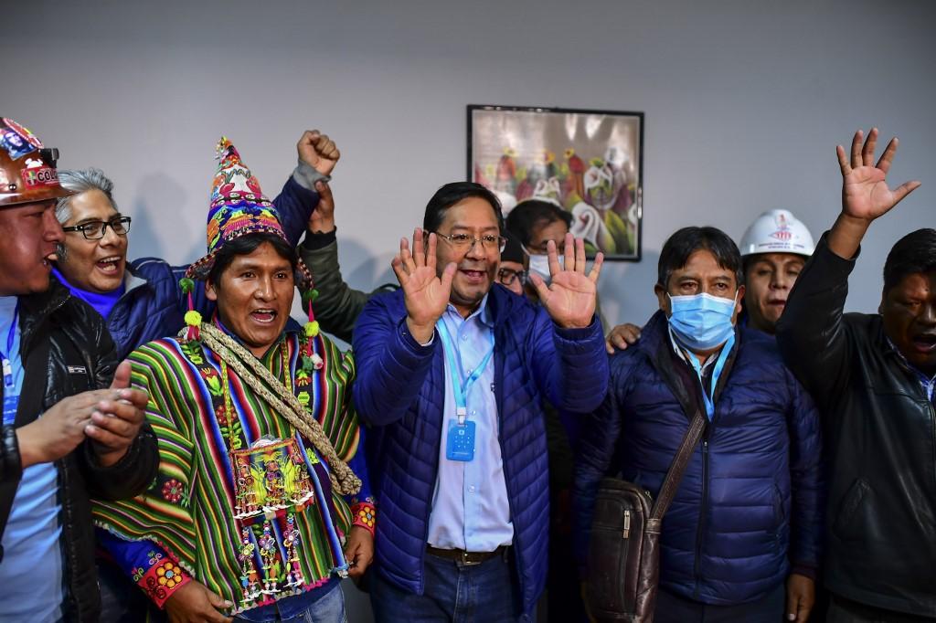 Luis Arce, virtual ganador de las elecciones presidenciales en Bolivia