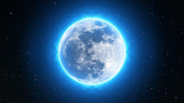 """Fenómeno de la """"luna azul"""""""