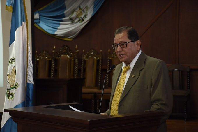 Neftaly Aldana, magistrado de la CC.